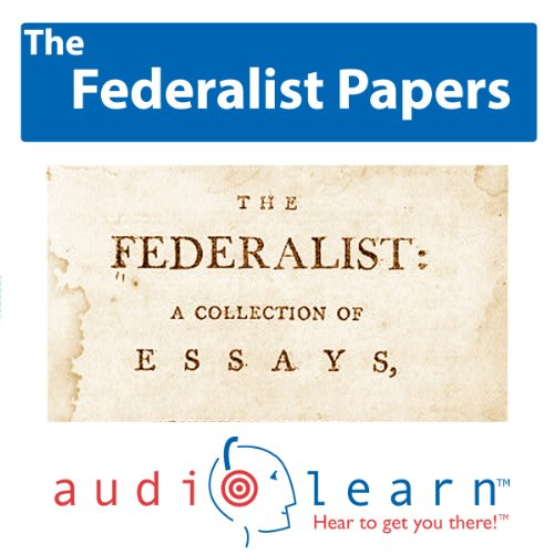 The Federalist Papers AudioLearn audiobook cover art