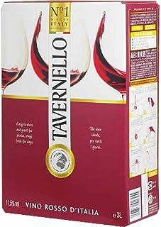 <Newデザイン><赤>タヴェルネッロ ロッソ バッグインボックス 3,000ml ボックスワイン 箱ワイン BOXワイン