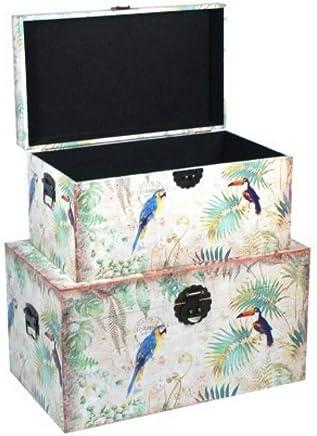 Amazon.es: baul madera - CAPRILO / Baúles / Cajas y arcones ...