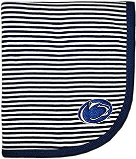 Penn State Nittany Lions Striped Infant Blanket