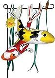 Premier Kites 59117 Garden Charm, Rainbow Koi, 30-Inch