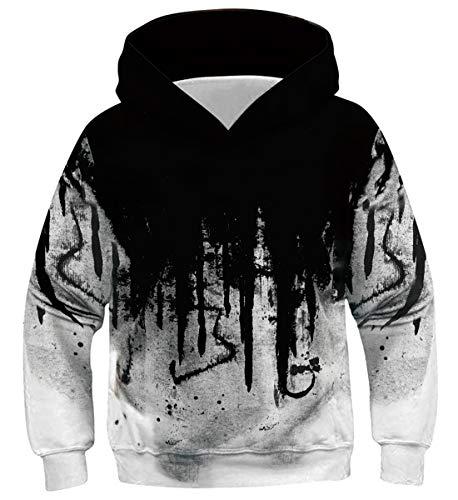 Belovecol Jungen Mädchen Hoodie Pullover Langarm Casual Kapuzenpullover mit Tasche für Kinder 11 12 13 Jahre