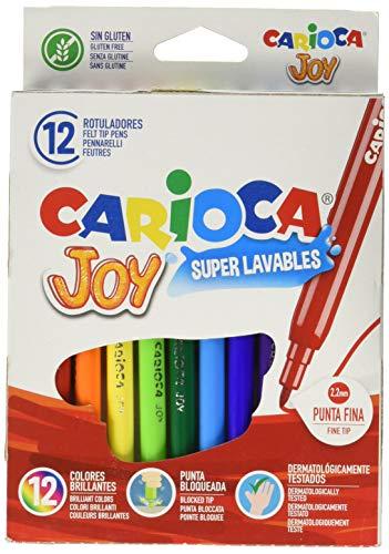 Carioca Joy A11100012 - Pack de 12 rotuladores