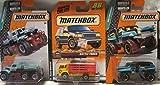 Matchbox Cattle Truck, Road Mauler & Rumble Raider Die Cast 1/64 Scale 3 Car Bundle!
