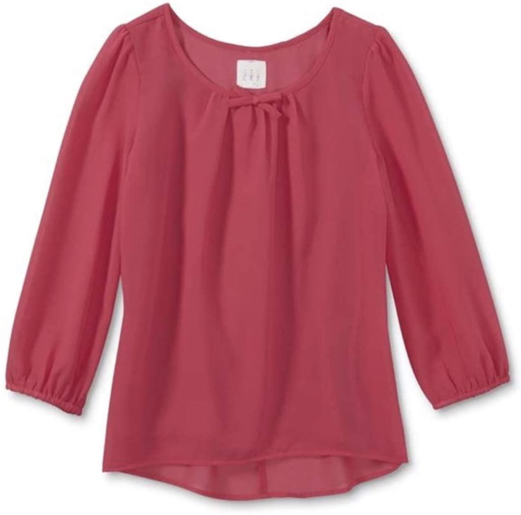 Canyon River Blues Girls' Bow - Back Top
