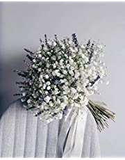 Bouquet de paniculata con lavanda.