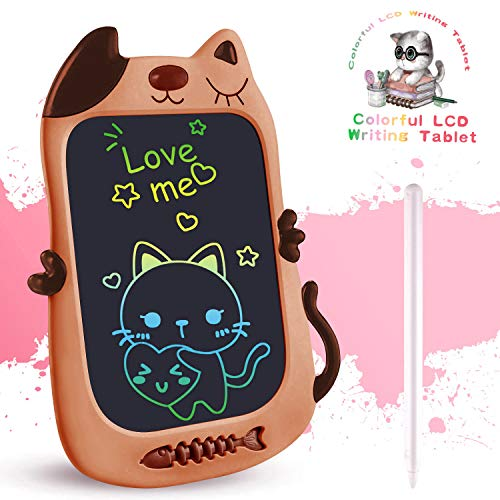 TEKFUN Girls Toys 3-6 Years Old Girls Boys, 8.5in Colorful LCD Writing Tablet...