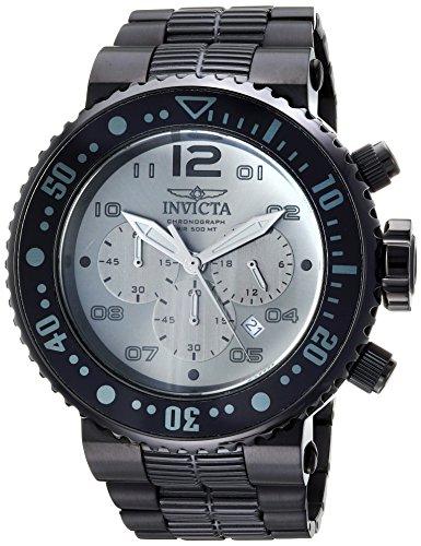 Invicta Pro Diver - Reloj de Buceo de Acero Inoxidable para Hombre, Color Negro (Modelo: 25079)
