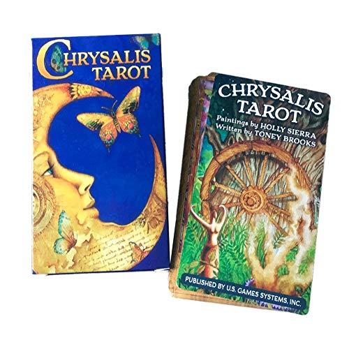 Incluye 78 Cartas del Juego de Mesa Tarot Crisálida, el Mejor Juego de Fiesta Familiar para ti y Tus Amigos, 78 Cartas y un folleto de 60 páginas