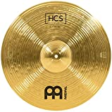 Meinl 18' Crash/Ride Cymbal - HCS Traditional Finish Brass for Drum Set, Made in Germany, 2-YEAR WARRANTY (HCS18CR)