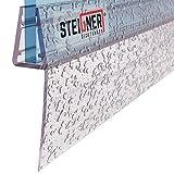 STEIGNER 100cm Joint d'étanchéité de remplacement pour les vitres d'une épaisseur 6mm/ 7mm/ 8mm UK05
