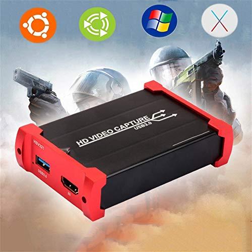 ZHANGRONG HDMI Game Capture Card Full HD 1080P Bei 60 Fps USB Video Recorder Unterstützt Videoaufzeichnung Und Live-Übertragung Unterstützungssystem Windows7 / 8/8.1/10 / Os