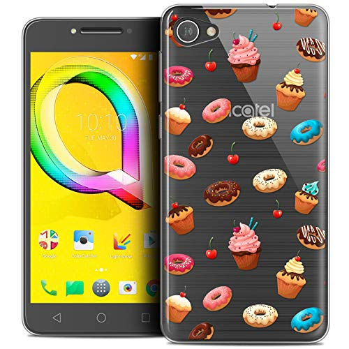 Carcasa para 5.2' Alcatel A5 LED, Foodie Donuts