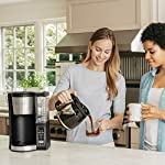 Ninja 12-Cup Programmable Coffee Maker with Classic and Rich Brews, 60 oz. Water Reservoir, and Thermal Flavor… 17 Hotter brewing technology: Advanced boiler for a perfectly hot cup of coffee Wake upto hot coffee 24 hour programmable delay brew allows you to prepare your brew upto a day in advance Keep coffee fresh and flavorful upto 4 hours with the adjustable warming plate