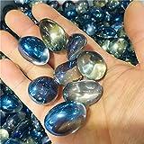 ACEACE Macetas de Acuario Coloridas de Cristal Natural decoran los especímenes minerales (Size : 100g)