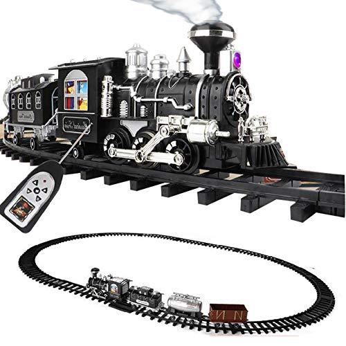 ZDSKSH Tren de Vapor eléctrico con Sonido Realista y Luces Trenes De...