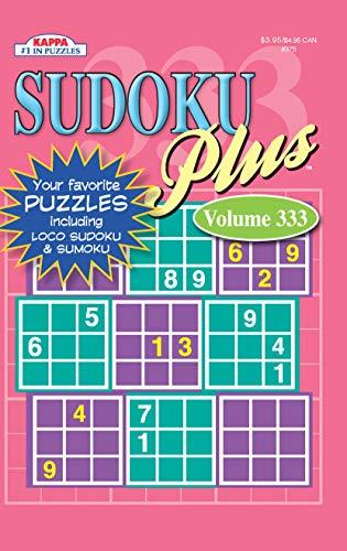 Sudoku Plus Puzzle Book-Volume 333