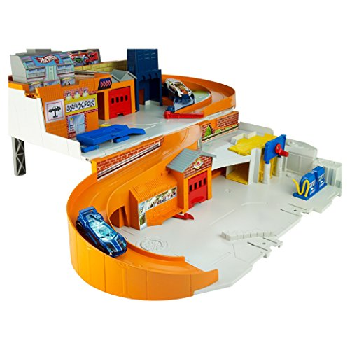 Hot Wheels Sto and Go Playset