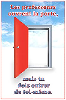 Teacher's Open the Door Poster (French)