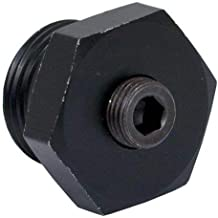 GlowShift Air Intake Heater Boost Plug Sensor Thread Adapter for 1999.5-2002 7.3L Ford Power Stroke & 2001-2004 6.6L GM LB7 Duramax Diesel