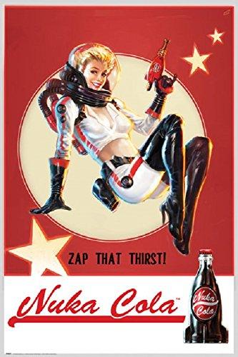 Fallout 4 - Nuka Cola 24x36 Poster
