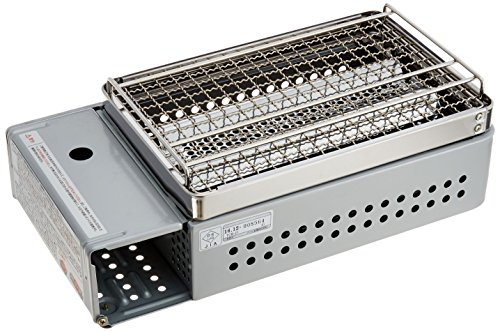 キャプテンスタッグ(CAPTAINSTAG)バーベキューBBQ用グリル焚火台炉端焼卓上カセットコンロM-6303