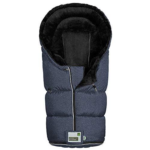 Odenwälder BabyNest Fußsack Lo-Go fashion | 12384-1080 | passend für alle Kinderwagen und Buggy | new woven dark night