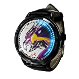My Hero Academia Reloj con Pantalla táctil Led Resistente al Agua Reloj de Pulsera con luz Digital Unisex Cosplay Regalo Nuevos Relojes de Pulsera niños-A08