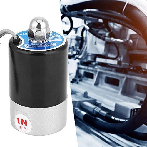 Yongenee Válvula solenoide eléctrica, Posición del controlador de fluido G1 / 8 2 Tipo piloto de 2 vías Normalmente interruptor de válvula magnética electromagnética normalmente cerrada Q22XD-2L (DC24