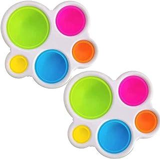 Eenvoudige kuiltje fidget speelgoed goedkope Kleine Beste Baby Autisme Zintuiglijke Speelgoed Babies Stress Relief Speelgo...