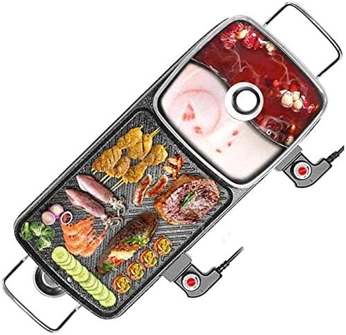 ZHEYANG Grill-Hot-Pot-Multifunktion,...