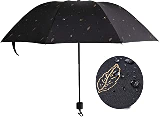 AINIYF Umbrella Large Folding Clear and Rain Dual-Purpose Reinforceds Windproofs Sunscreen UV Men and Women Increase Sun Umbrella