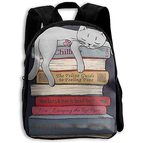 Kindergarten Büchertasche,Reiseeucksack,Tagesrucksack,Kinderschultasche,Tierkarikatur-Weihnachtsmann-Lebkuchen Scherzt Justierbaren Bookbag,Wasserdichten Rucksack,Beiläufigen Oxford-Rucksack