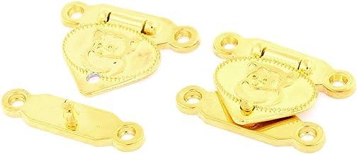 Koffer Sieraden Box Case Hasp Klink Borst Lock Vergrendeling Scharnier 2 Sets