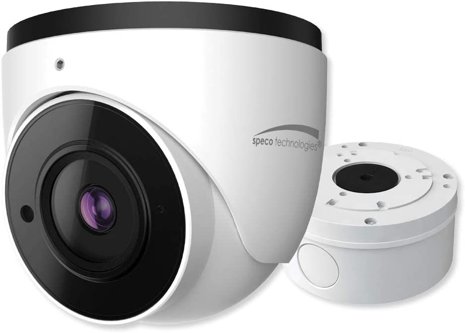 Speco O4T7 H.265 Turret IP Camera with Advance Analytics