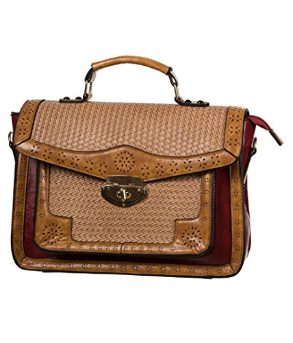 Dancing Days by Banned Henkeltasche Honky Tonk Handbag 7087 red Rot one Size