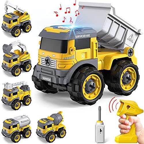 GizmoVine -   Bagger Spielzeug ,6