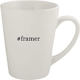 #framer - Ceramic 12oz Latte Coffee Mug