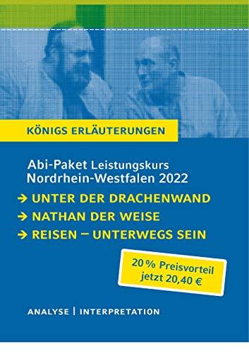 Abitur Deutsch NRW 2022 LK - Königs Erläuterungen-Paket: Ein Bundle mit allen Lektürehilfen zur Abiturprüfung: Nathan der Weise, Unter der ... sein. Lyrik vom Barock bis zur Gegenwart