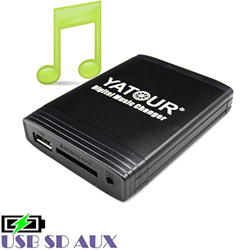 Ford und Skoda 8 Pin mit Ausbauhaken Autoradio MP3 Seat CD Yatour YT-M06-VW8 USB SD AUX Digitaler Musikadapter f/ür VW