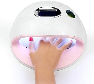 Lámpara de uñas LED Gel Profesional UV Esmalte de uñas lámpara eficiente secador de uñas profesional con Smart AutoSensing de curado ultrarrápido conveniencia seguro LED / UV de doble fuente de luz 72