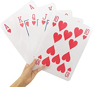 YH Poker 8X11 Inch Super Jumbo Playing Cards Full Deck of Big Playing Cards
