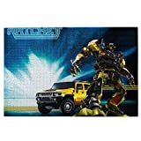 Transformers Rompecabezas de 1000 Piezas para niños Adultos, Juego Intelectual de Juguete para aliviar el estrés, decoración del hogar, Rompecabezas