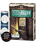 QUIZscape: Das Quiz-Escape Spiel - Der goldene Buchstabe + 5X Escape-Sticker + 1x optisches Täuschungsposter