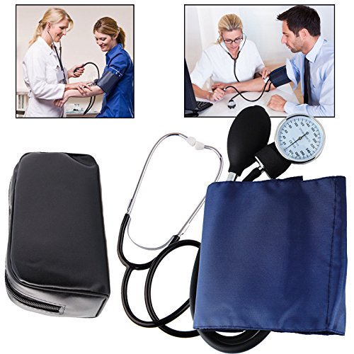 Professional Aneroid Sphygmomanometer Blood Pressure Monitor Kit with Free...