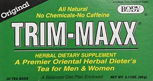 Body Breakthrough Trim Maxx Tea, Original, 30 Count