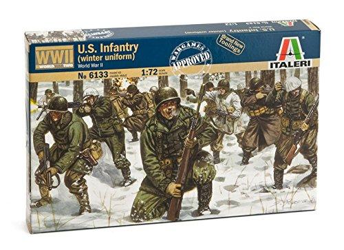 Italeri 6133 - WWII: Us Infantry (Winter Uniform) Scala 1:72
