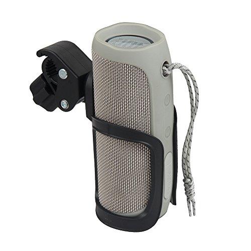 Hermitshell Hard Bike Mount Holder with Clamp Fits JBL Flip 5/4 / 3 Bluetooth Speaker