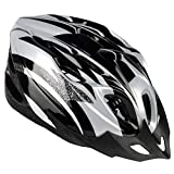 Koowaa Casco deportivo de ciclismo integralmente moldeado, casco deportivo, ajustable, ligero, para adultos, jóvenes, hombres y mujeres, para monopatín, MTB, bicicleta de carretera, seguridad