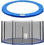 ULTRAPOWER SPORTS Filet de Sécurité et Coussin de Protection de Ressorts pour Trampoline avec Diamètre...